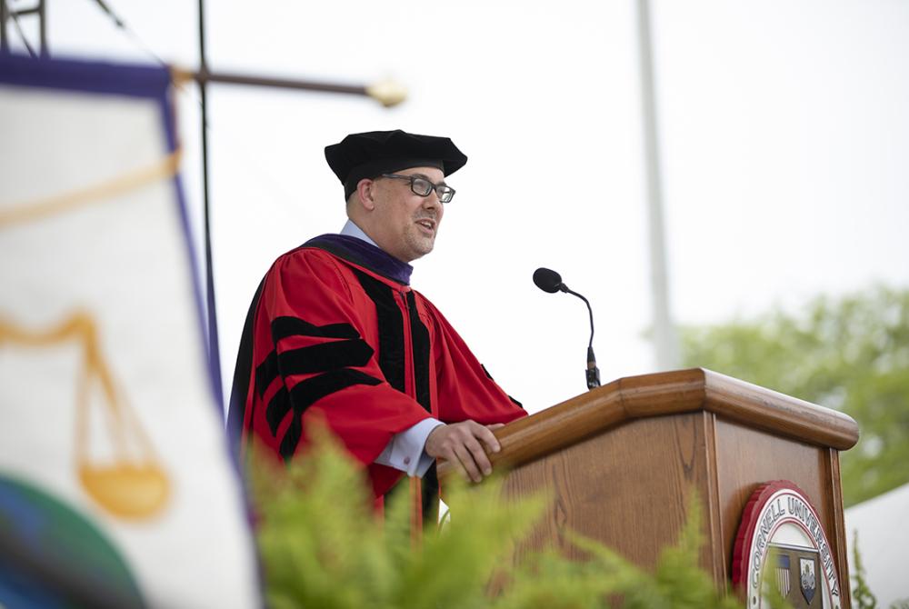 2021 Cornell Law School graduation